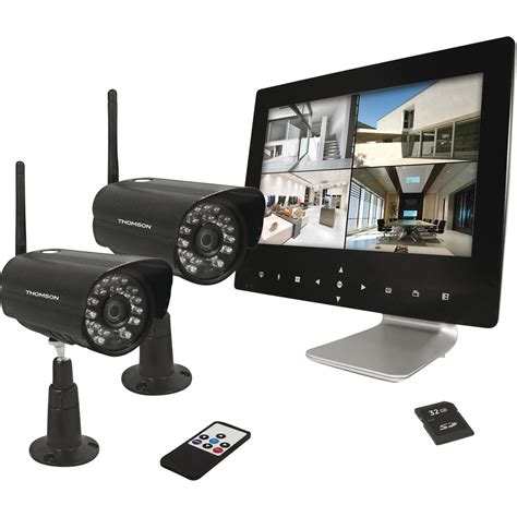 kit de vid 233 osurveillance connect 233 sans fil int 233 rieur ext 233 rieur thomson dvr423 leroy merlin
