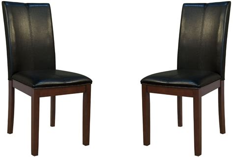 parson black curved back dining chair set of 2 prses221k