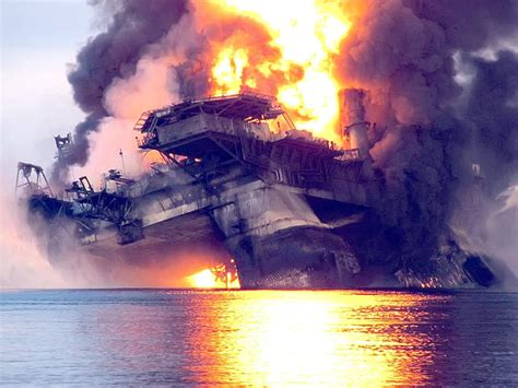 Image result for deepwater horizon fire