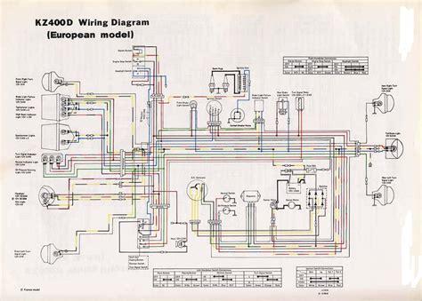 1981 kz550 wiring diagram z400 wiring diagram wiring