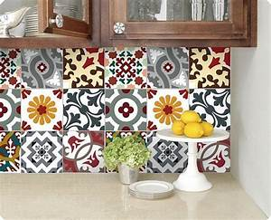 kitchen bathroom tile decals vinyl sticker barcelona With stickers pour carrelage cuisine