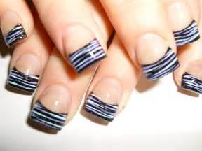 Acrylic nail designs zebra nails design