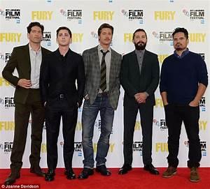 Brad Pitt says new World War II drama Fury made him a ...