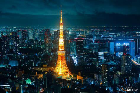 tokyo tower shining  night offbeat japan alternative