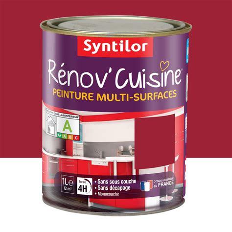 renov cuisine leroy merlin peinture rénov 39 cuisine syntilor gaspacho 1 l