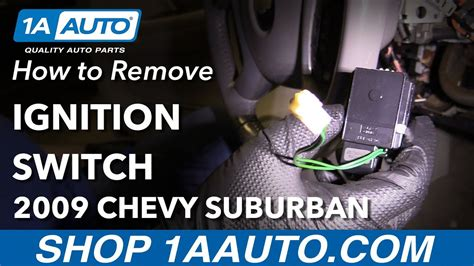 2005 Suburban Ignition Switch by How To Replace Ignition Switch 07 16 Chevrolet Suburban
