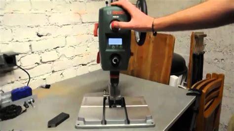 test bosch pbd 40 tischbohrmaschine expert 710 w elektr drehzahlanzeige 2 g 228 nge max bohr 216 40 mm