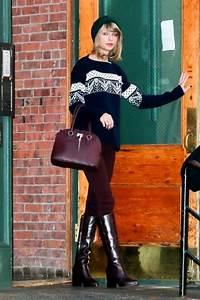 Taylor Swift Knee High Boots - Taylor Swift Boots Looks ...