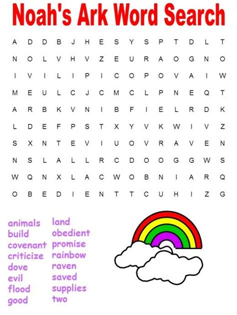 fun printable bible word search puzzles kittybabylovecom