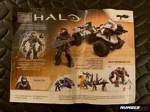 7x Halo Mega Bloks Paper Instruction Manuals Guides