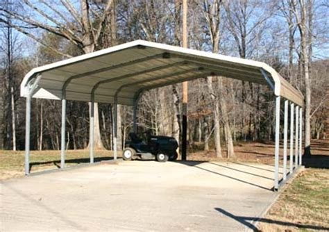 standard eco friendly steel carport