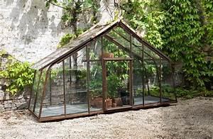 Serre Fer Forgé : serre en verre et fer forg possible sur mesure jardin ~ Teatrodelosmanantiales.com Idées de Décoration