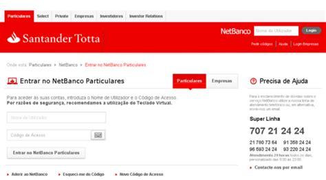 Net Banco Banco Santander Particulares Seonegativo
