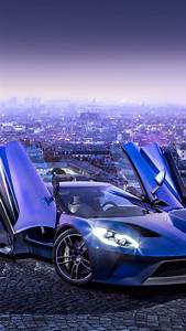 Wallpaper Ford GT, supercar, concept, blue, sports car