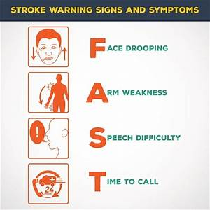 early warning signs of stroke