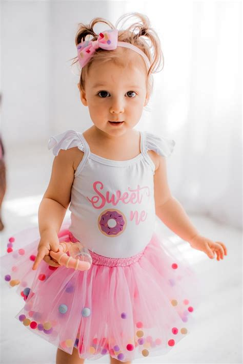 Free shipping on orders over $25 shipped by amazon. Sweet One Donut First Birthday Outfit First Birthday ...