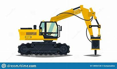 Excavator Crusher Hammer Construction Hydraulic Special Machinery