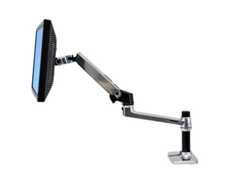 lx desk mount lcd arm pole lx desk mount monitor arm pole ergotron 45 295 026