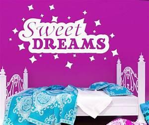 Wandtattoo Sweet Dreams : wandspruch sweet dreams wandaufkleber kinderzimmer sterne kind wandtattoo 1d140 wandtattoos ~ Whattoseeinmadrid.com Haus und Dekorationen