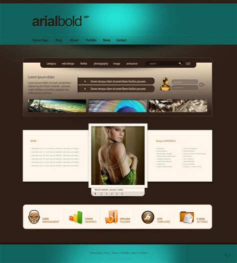 inspirasi layout desain web  deviantart idfreelance
