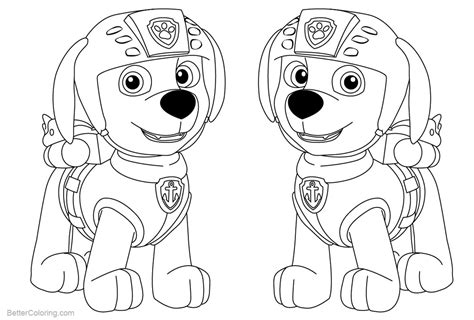 Coloring Zuma by Paw Patrol Coloring Pages Zuma Free Printable Coloring Pages