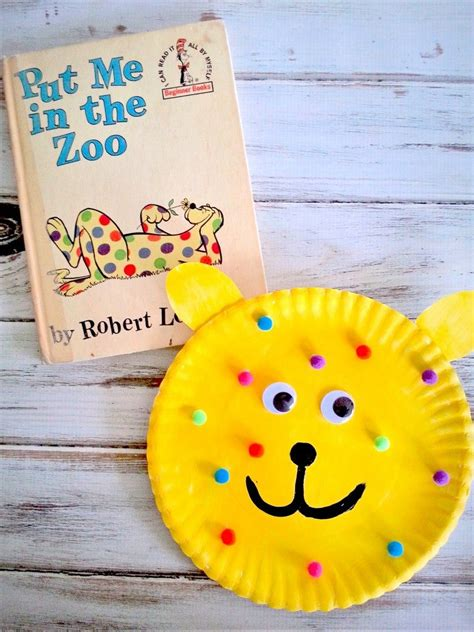 put    zoo paper plate craft fun family crafts