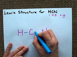 Lewis Structure Of Hcn