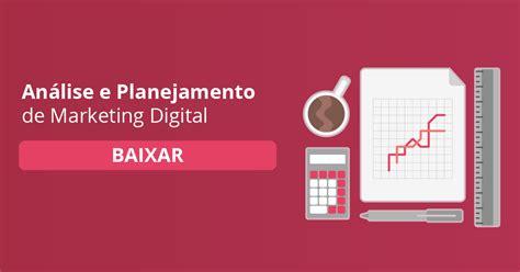 planejamento de marketing digital   planilha