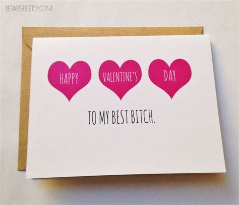 Funny Best Friend Valentine Day Cards