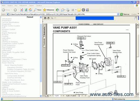 Lexus Repair Manuals Download Wiring