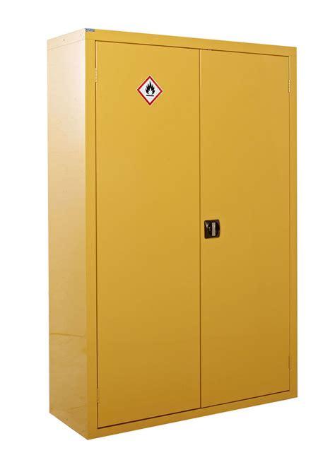 yellow kitchen cabinets hazardous substance storage yellow coshh 183 barriers direct 1214