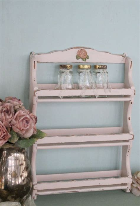 Shabby Chic Spice Rack by 53 Best Ideas About Spice Rack Redo On Shabby