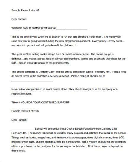 samples fundraising letters rota template