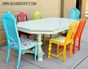 Dining Room Table Transformation