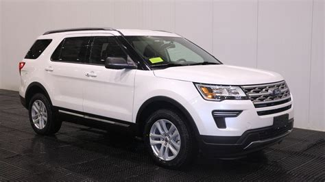 New 2018 Ford Explorer Xlt In Quincy #f106668  Quirk Ford