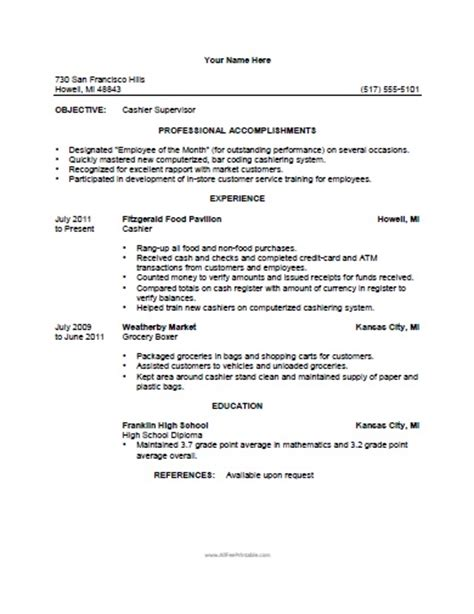 Convenience Store Cashier Resume by Computer Technician Resume Exles Sles Free Edit With