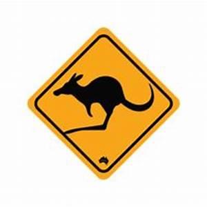 Koala crossing road sign Vector Image - 1961398 ...
