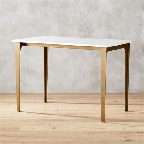 High Tables by Paradigm Marble High Dining Table Reviews Cb2