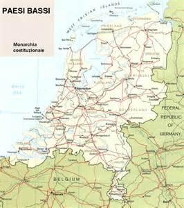 Mappa Paesi Bassi