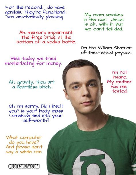 Coopers Furniture by Sheldon Cooper Quotes