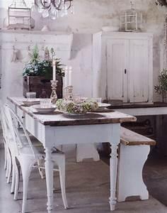 Küchen Und Esszimmerstühle : vintage landhausstil esszimmer shabby chic franz siches landhaus farmhouse cottage style ~ Orissabook.com Haus und Dekorationen