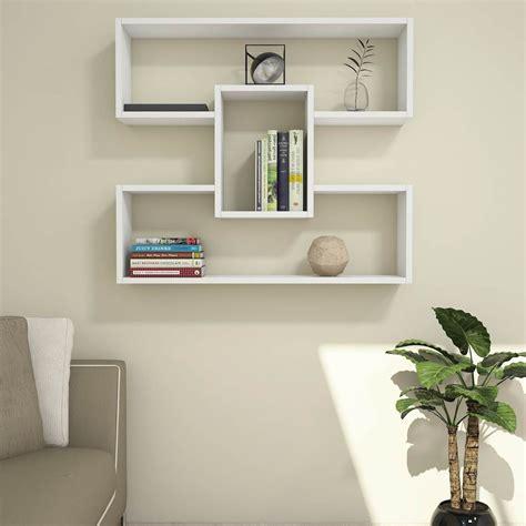 Libreria Mensola Mensola Libreria Da Parete 90 X 90 Cm Darcy