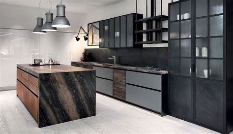 Modern Contemporary Gallery Kitchen Design Factory Dolce