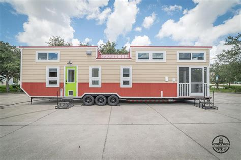 ft elmore tiny house  movable roots