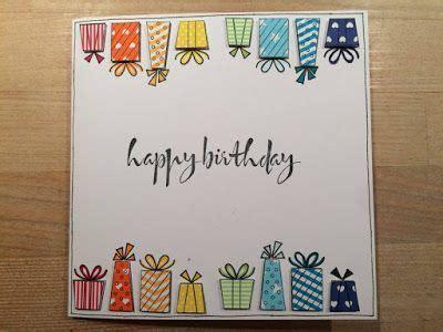 gummiapan karten handmade birthday cards watercolor