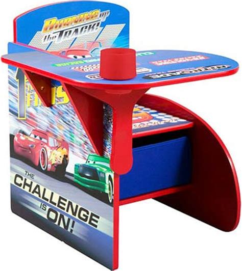 disney cars desk and chair set disney pixar cars chair desk w storage seat tc83880cr