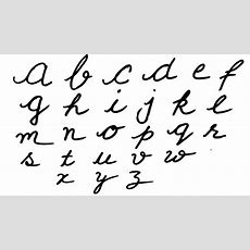 Cursive Writing  Writing Small Alphabets In Cursive  Alphabets In Cursive Letters  Abc Song