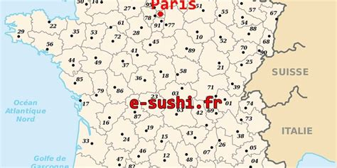 Carte Departement Parisien by Departement