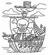 Pirate Treasure Coloring Chest Pages Pirates Caribbean Ship Printable Lego Boat Schooner Line Sheet Adults Drawing Colouring Colorings Getcolorings Sheets sketch template