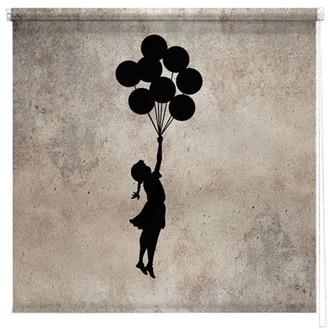 Girl with Balloon Painting